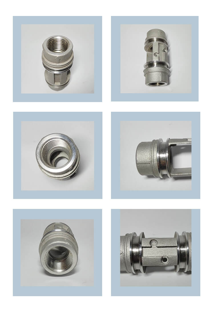 304 investment stainless steel casting China cnc machining precision parts