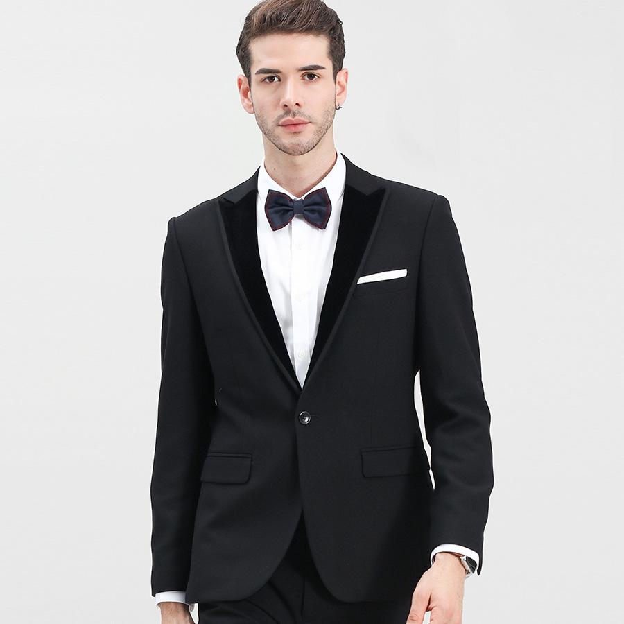 Resultado de imagen para traje clasico negro