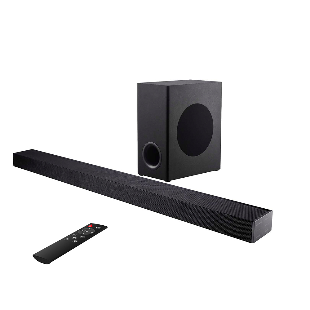 USA TV Sound Bar Home Theater Subwoofer Soundbar with Bluetooth Wireless Wired