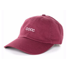 2018 Wholesale Custom Burgundy-Red Embroidery Baseball Cap