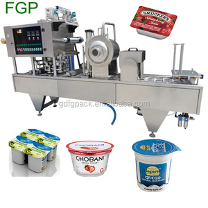 Big production linear jelly cup/pot filling sealing machine with date printer made in China factory price