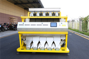 New RGB Coffee Beans Color Sorting Machine With Double Side CCD Camera