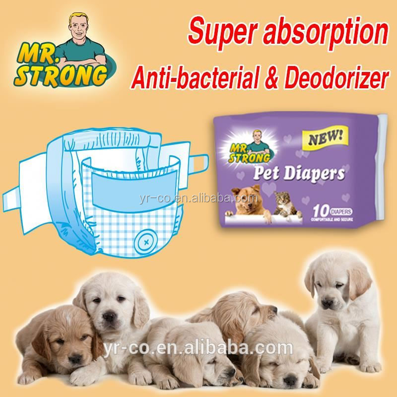 Different type of pet diapers manufacturers in China