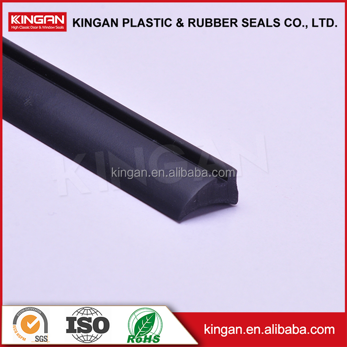 Aluminum and wood composite window seal, epdm material