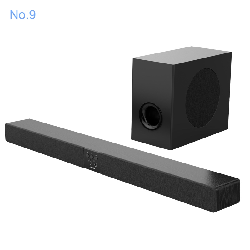 2.1CH Wireless torre sound bar con subwoofer per la TV