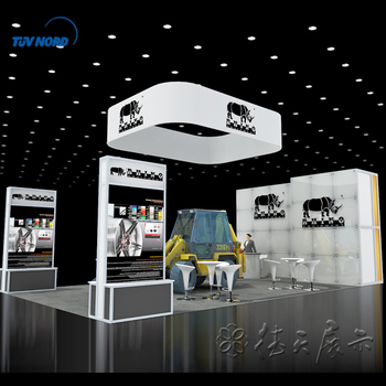 Detian Offer Aluminum Exhibition Booth For Car Show Modular Trade - Car show booth