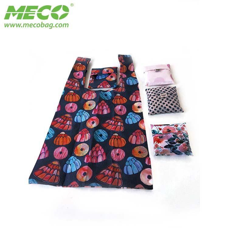 Promotion Cheap Nylon Foldable Shopping Bag, Reusable Shopping Bags