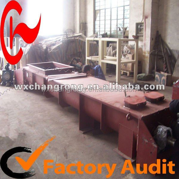 Wood Filling Horizontal Spiral Chute Welding Screw Conveyors