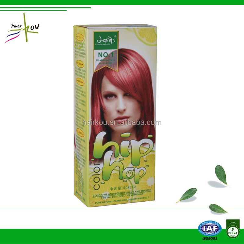 China Red Permanent Hair Dye China Red Permanent Hair Dye