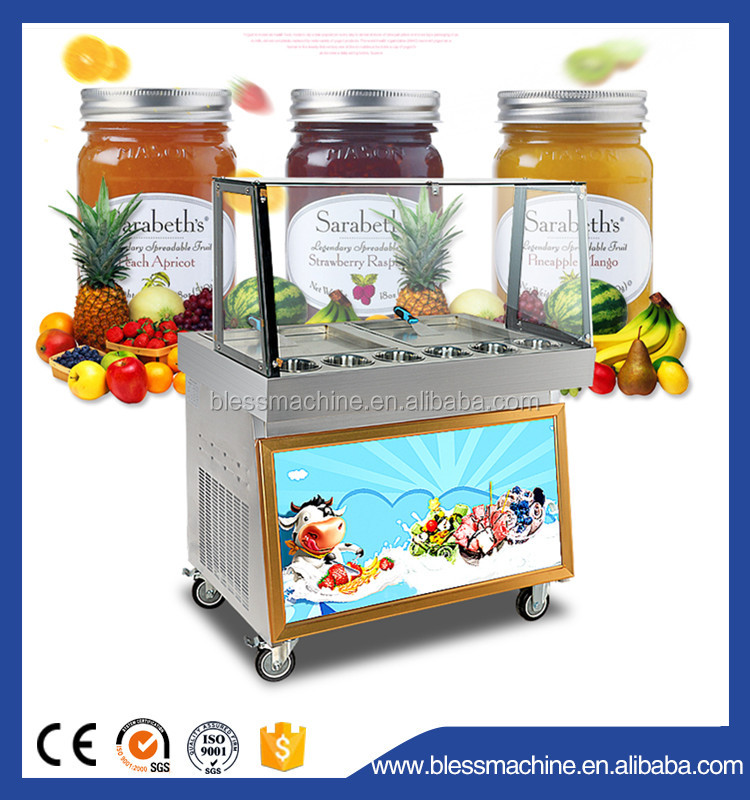 High production Quick frozen varies flavors cheap ice cream machine
