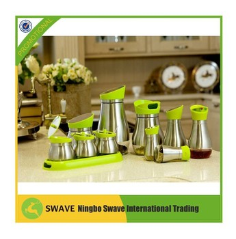 10pcs/set Storage Olive Oil And Vinegar Bottle,Kitchen Containers ...