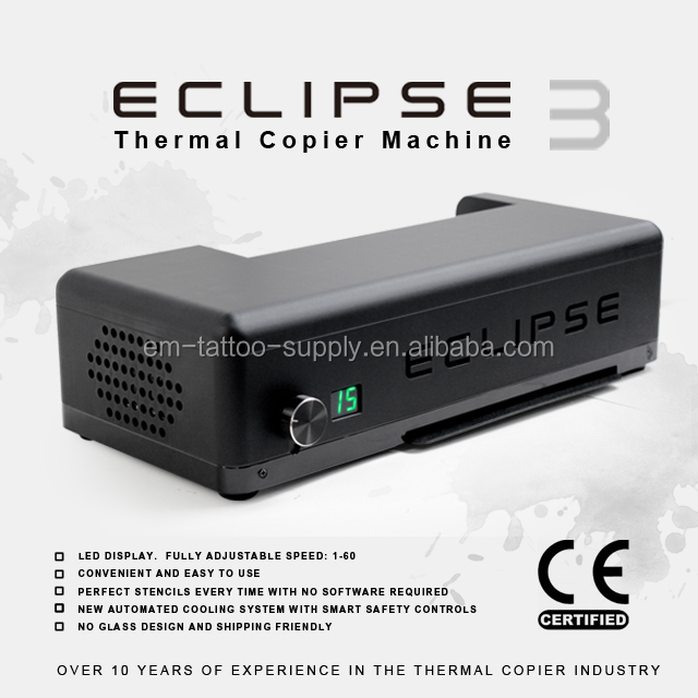 ECLIPSE Versie 3 Image Transfer Tattoo Stencil thermische kopieermachine