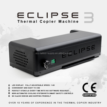 ECLIPSE Version 3 Bild Transfer Tattoo Schablone Thermische Kopierer Maschine