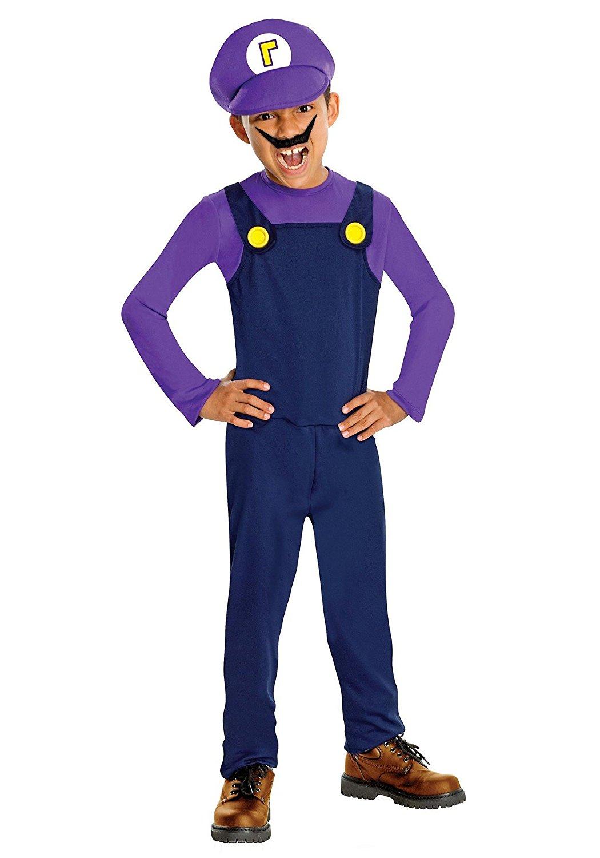 Get Quotations · Boys Classic Super Mario Waluigi Costume  sc 1 st  Alibaba & Cheap Super Mario Cosplay Costume find Super Mario Cosplay Costume ...