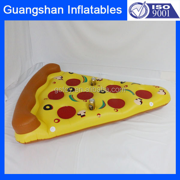 Water lounge Inflatable Floating Pizza Slice Pool mattress