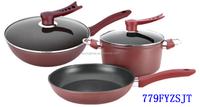 5 PCS Enamel Cookware Set Kitchen Pots Set