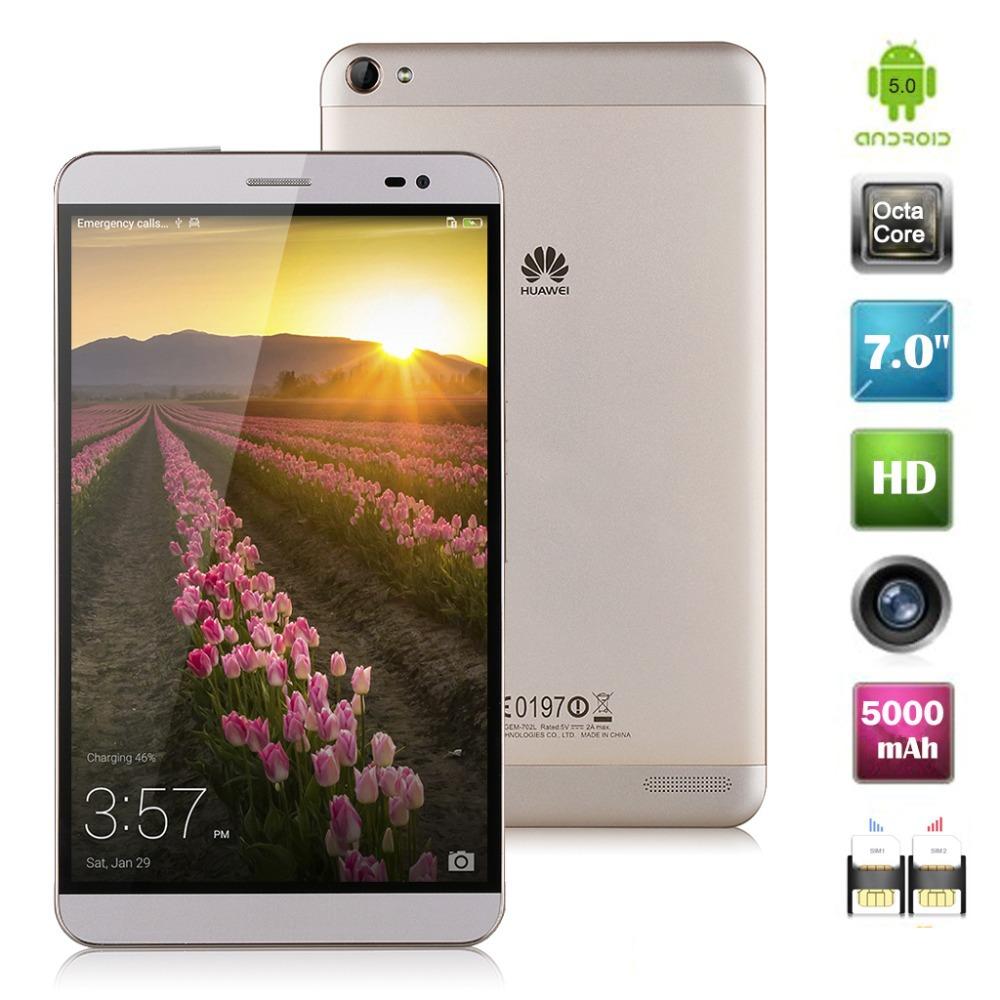 Huawei MediaPad X2 4G LTE Phablet Android 5 0 7 inch HD 5000mAh Octa core  2 0GHz RAM 3GB+ROM 32GB 1920*1200 5000mAh Tablet PC