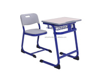 School desk and chair for nursery used school desk chair