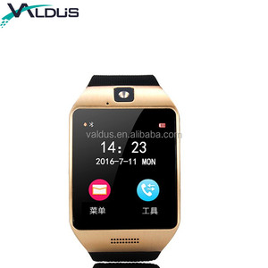 Touch Screen Smart Watch with 2G SIM Card Camera Message Reminder Pedometer Q18S