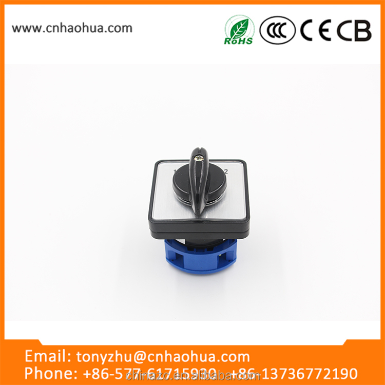 LW26 series 25A new design fashion low price auto changeover switch auto sealed micro switch