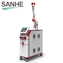 q switch nd yag laser 1064 and 532nm tattoo removal for sale 1-8mm spot size tattoo removal machine to India