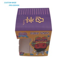 2018 hot-selling low price foldable custom size paper package box