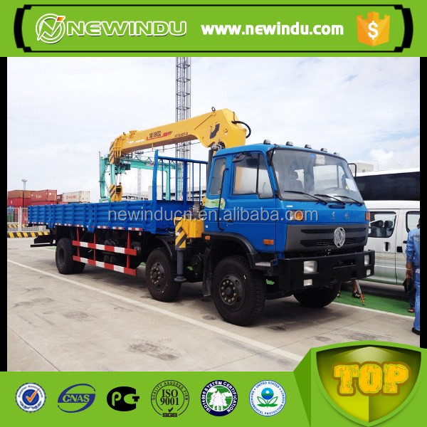 SQ4SK2Q telescopic boom 4 ton truck mounted crane in Argentina