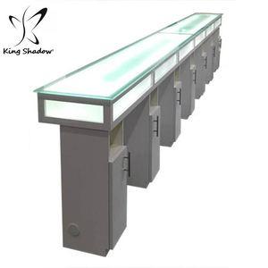 Nail salon equipment manicure desk table nail bar furniture for sale
