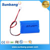 customized rechargeable 3.7v 1800mah lithium polymer battery cells