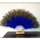 IEF-07 Wholesale handmade peacock feather fan belly dance