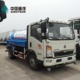 HOWO 6 wheel 10000 12000 liters water transport spray carrying tanker truck price
