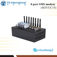 Made in China cheapest high quality download 7.2mbps internet tv modem 8 port gsm modem
