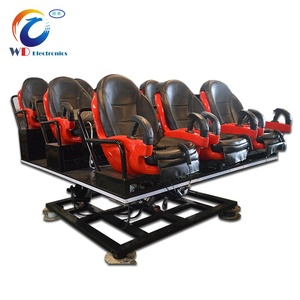Roller Coaster 3D 4D 5D 6D Cinema Theater Movie Motion Chair Seat 5D Cinema Simulator Virtual Reality Chair 7D Cinema