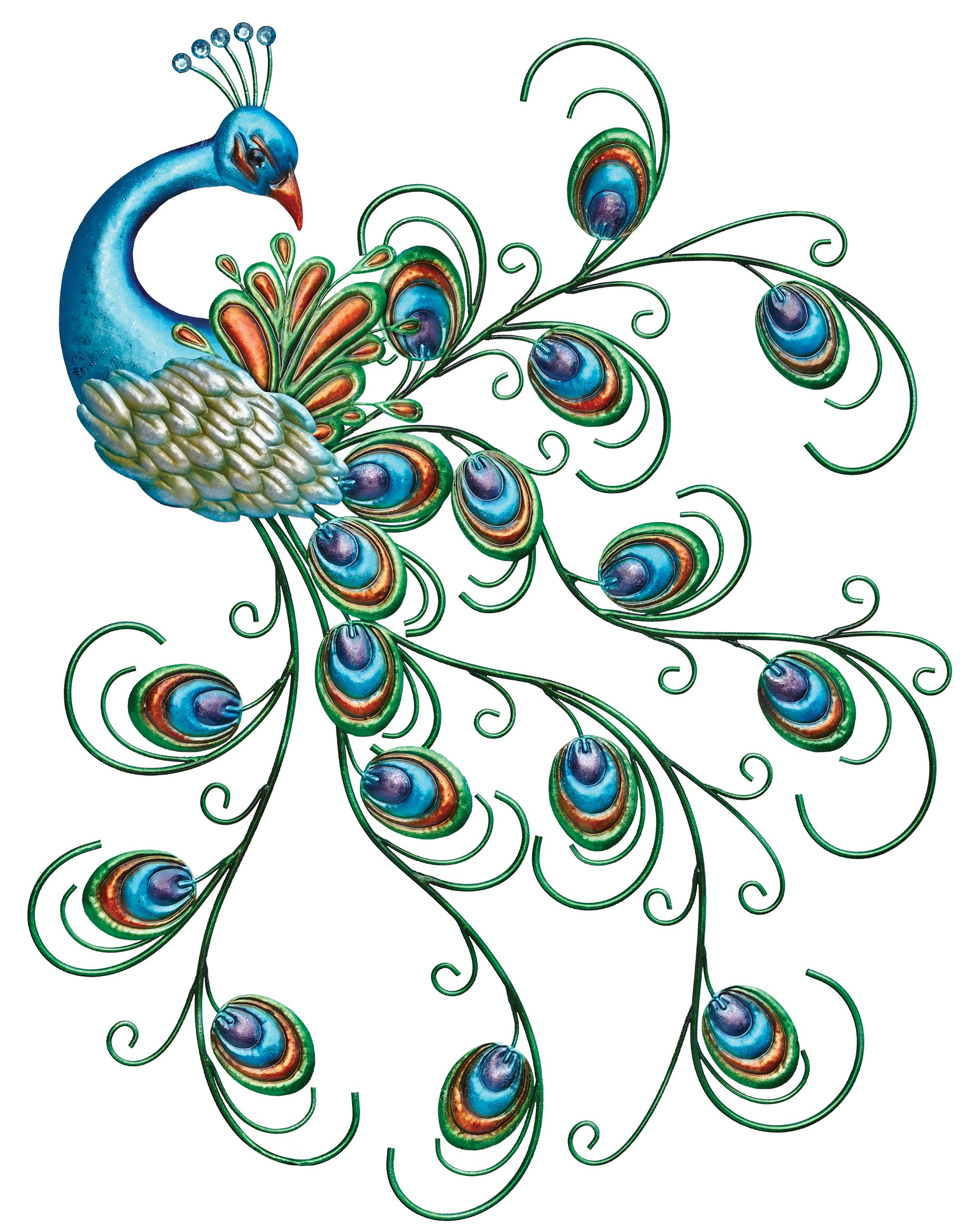 Charmant Get Quotations · Regal Art U0026 Gift Pretty Peacock Wall Decor
