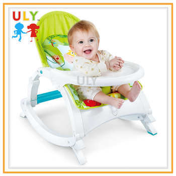 Good Quality Green  Multifunction Music Newborn Baby Toddler Portable Rocker