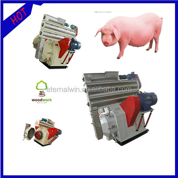 high output poultry feed pellets granulator for sale