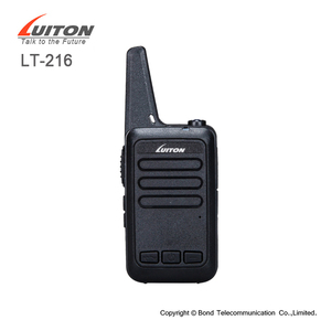 mini handy radio with software programs LT-216 uhf walkie talkie