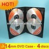 14mm multiple cd dvd storage box