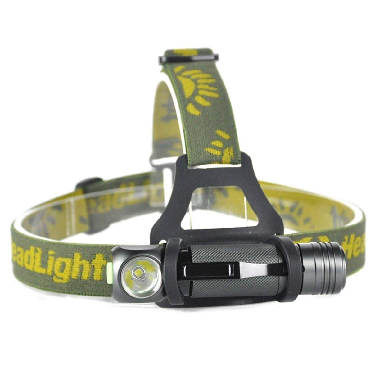 1 Set 1000 Lumen XPL V5 LED Headlamp 3 Modes Torch 5W Flashlight Headlight Lavish Fashionable Ultra Xtreme Tactical Bright Light Waterproof Outdoor Running Hiking Hunting Fishing Camping Lights