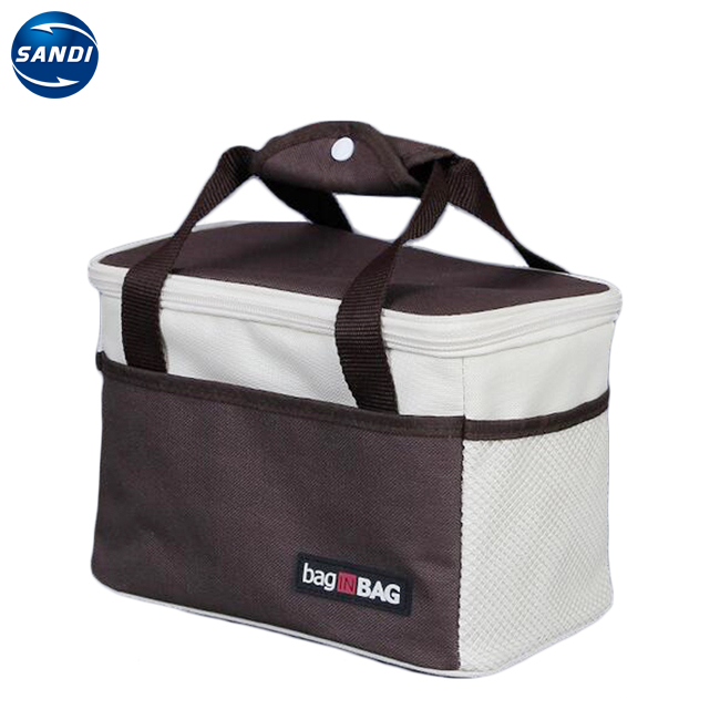 Custom picknick cooler geïsoleerde lunch box tas met logo