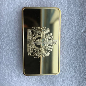 he United Kingdom Queen Elizabeth II fake replica gold bullion bar with Coins Collectibles