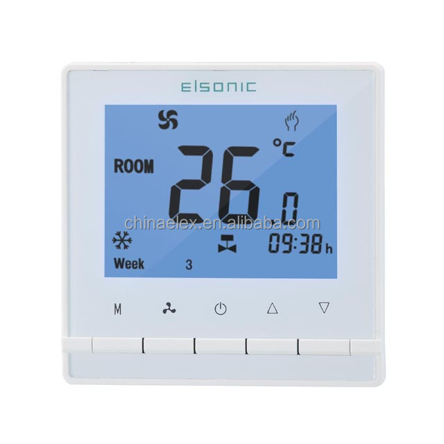 AC330 digital auto room thermostat for heating