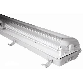 Ip65 Waterproof Fixture Lighting 2x36w Fluorescent Light Fittings ...