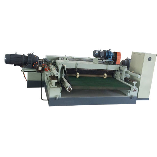Hout log peeling machine/houtbewerking machines/fineer roterende snijmachine