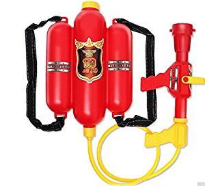 Amashz Child Fire Backpack Nozzle Water Gun Toy Air pressure Water Gun Summer Beach