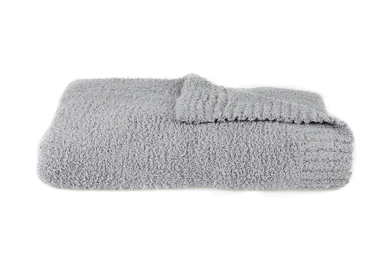 "Saranoni Luxury Bamboni Receiving Baby Blanket (30""x40"") Gray"