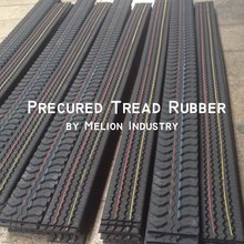Cold tire retreading precured tread liner rubber