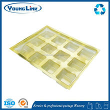 disposable plastic plate three folding blister