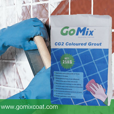 wall tile adhesive and grout