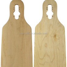 8ply Cair Através Longboards Canadian Maple Decks